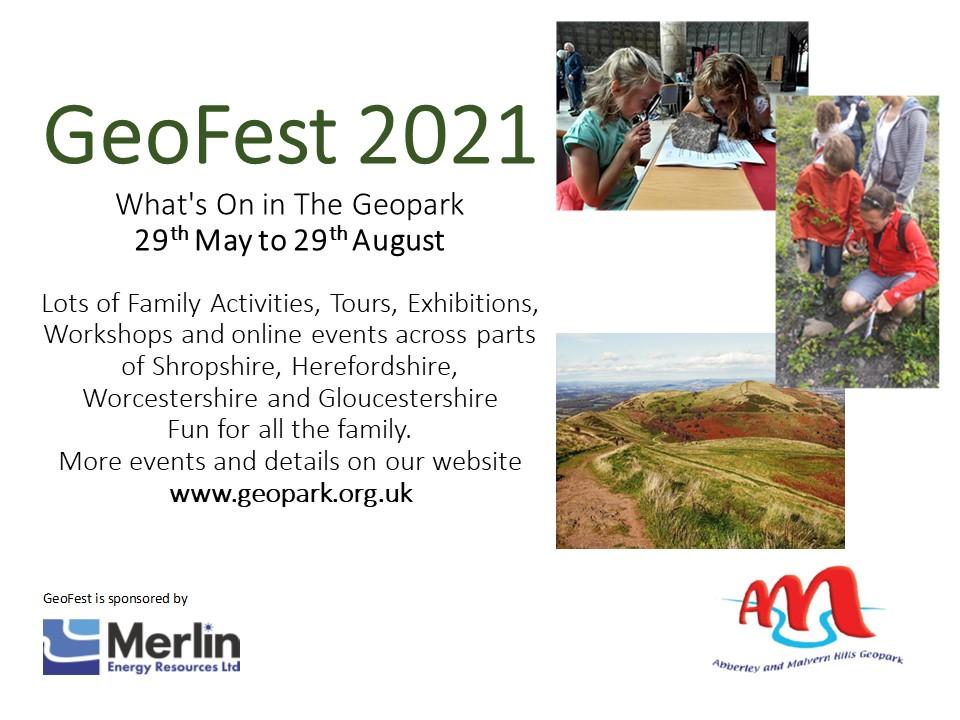Geofest 2021 poster