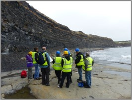 Merlin Energy technical team on site
